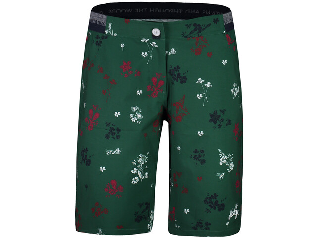 Maloja NeisaM. Printed Multisport Shorts Damen stone pine mountain meadow